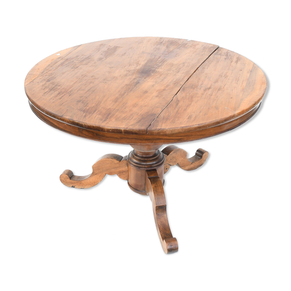 Table tripode style Louis Philippe