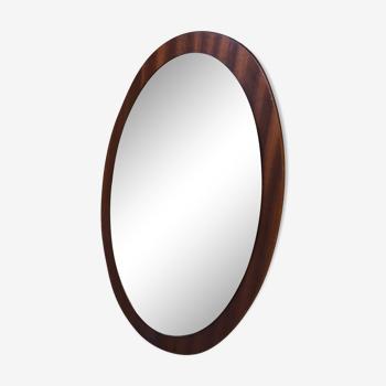 Miroir ovale style scandinave 57x36cm