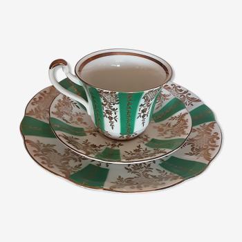 Tasse thé-café en porcelaine - vintage