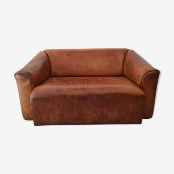 Canapé cuir 2 place De Sede DS47