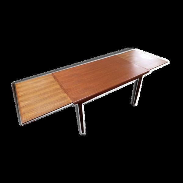 Table scandinave made in Danemark en teck