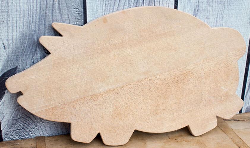 Planche à découper forme cochon