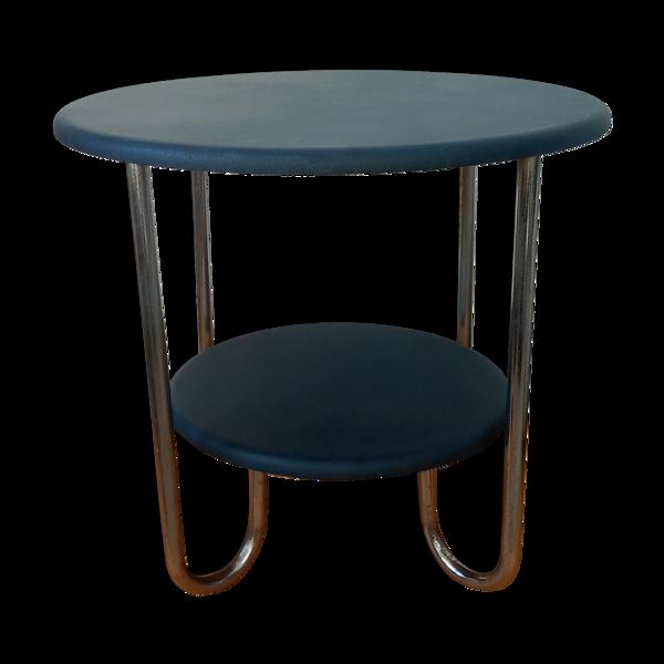 Table d'appoint à deux niveaux années 50/60