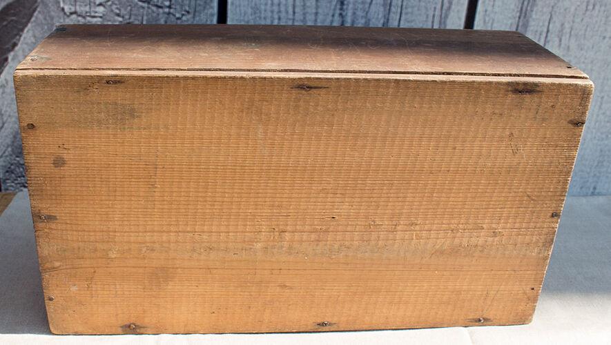 Boîte avec couvercle glissante 35 cm large