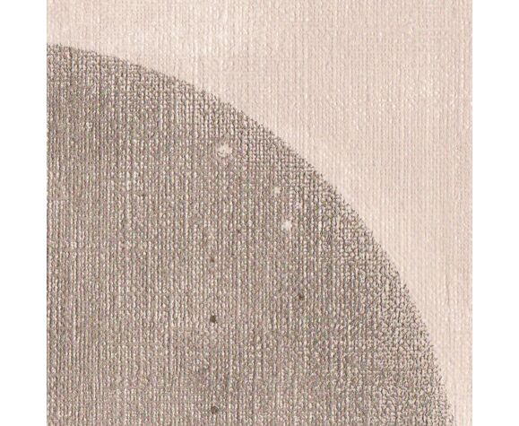 Peinture sur papier datée et signée Eawy