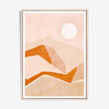 """Artwork """"Desert view"""" A3"""