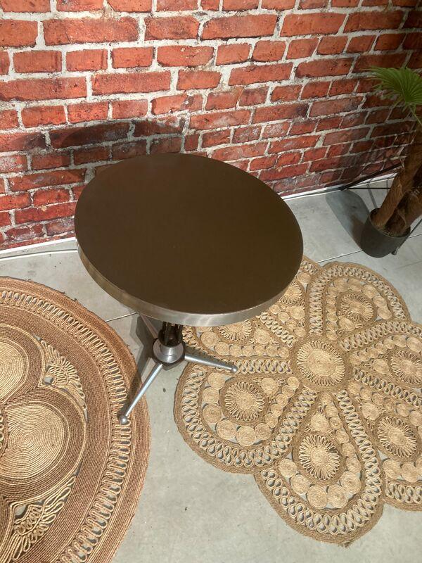 Gueridon ou table bistrot