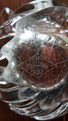 Cendrier coquillage cristal de vannes