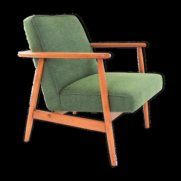 Selency Fauteuil Z années 60 vert