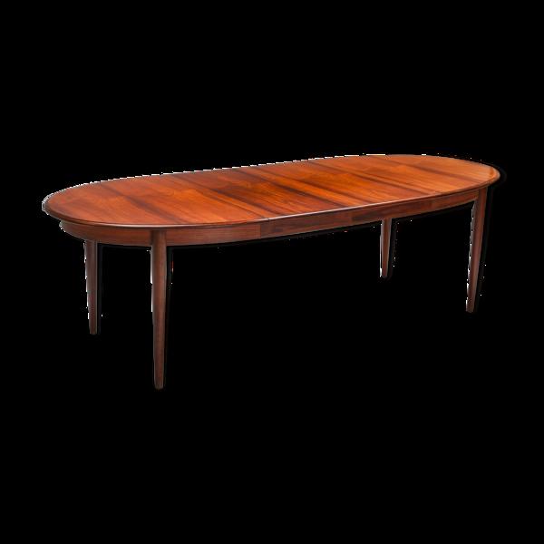 Selency Table de salle à manger à rallonge moderne par Møller Danemark 1970s