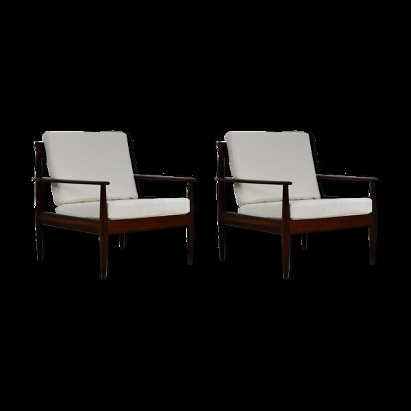 Selency Paire de fauteuils scandinaves 1960S