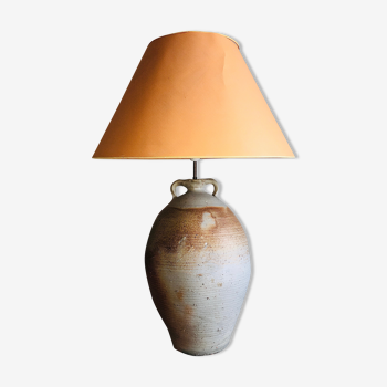 Lampe poterie ancienne
