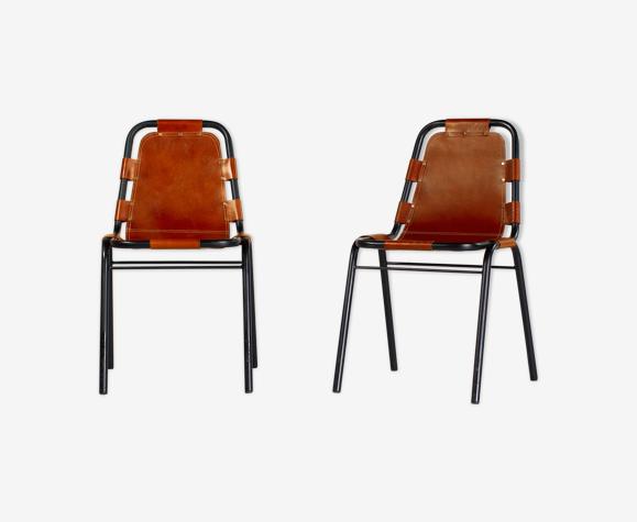 Paire de chaises «Les Arcs»