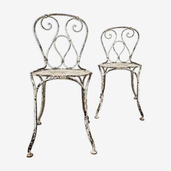 Paire de chaises 19eme