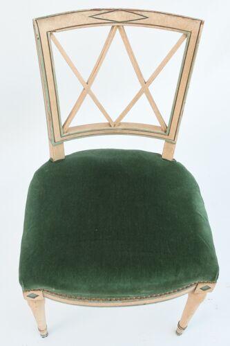 Chaise de style directoire