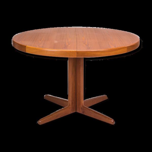 Table extensible par H.W. Klein for Bramin, années 1960