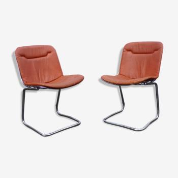 Paire de chaises par Gaston Rinaldi