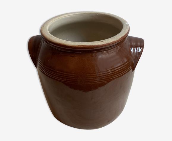 Vintage grease pot