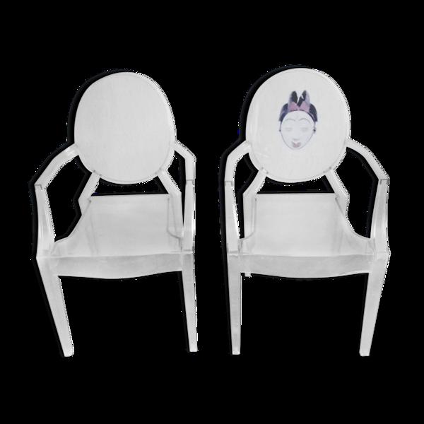 Paire de fauteuils Kartell