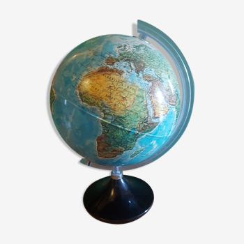 Globe terrestre lumineux , mappemonde , Italy