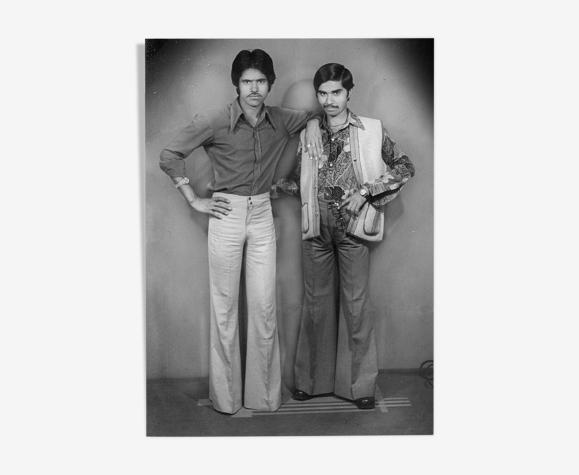 Portrait de deux amis à Jaipur