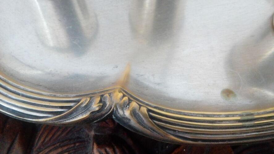 Service à liqueurs en métal argenté