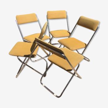 Lot 5 chaises Framar