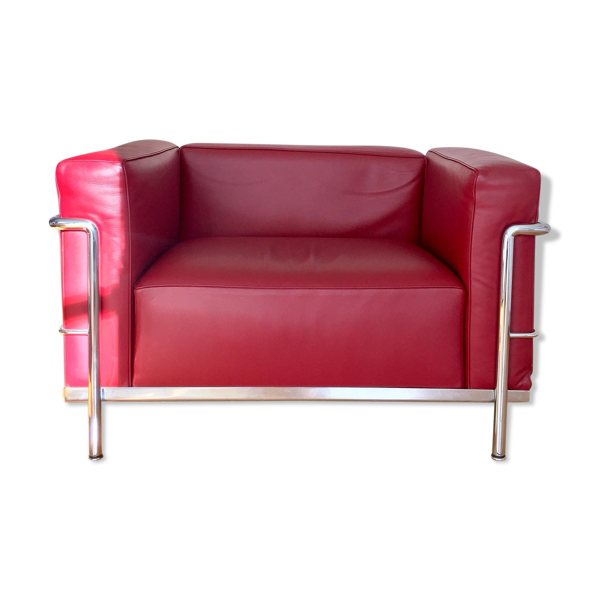 Selency Fauteuil LC3 par Le Corbusier pour Cassina 2014