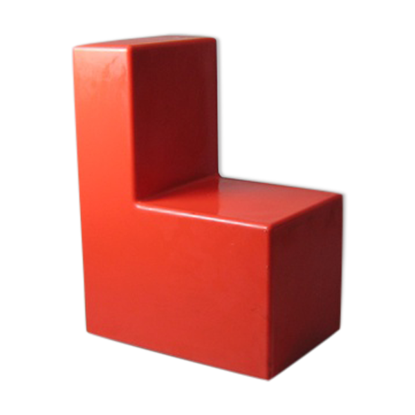 Selency Chaise tetris Wavin design