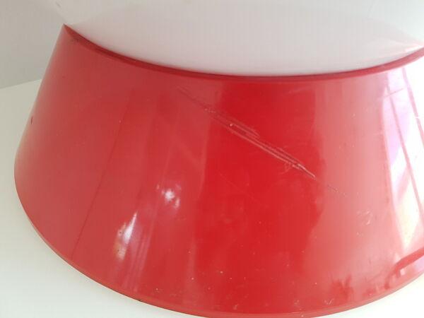 Lampe à poser boule vintage