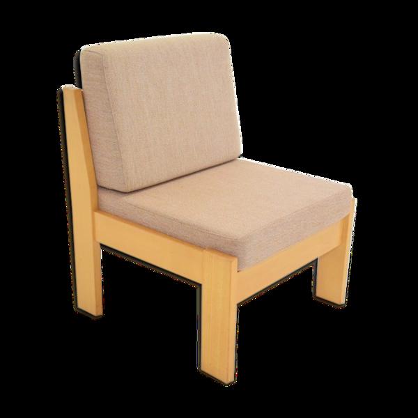 Fauteuil scandinave nordique minimaliste vintage
