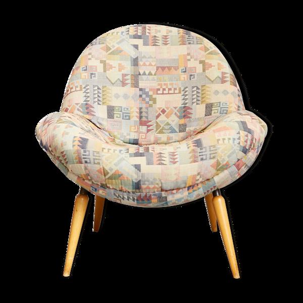Fritz Neth Egg Chair for Correcta Werke Bielfeld