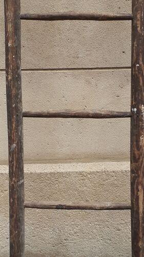 Échelle de peintre en bois ancienne vintage