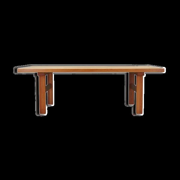 Table basse, design danois, années 1980, production: Danemark