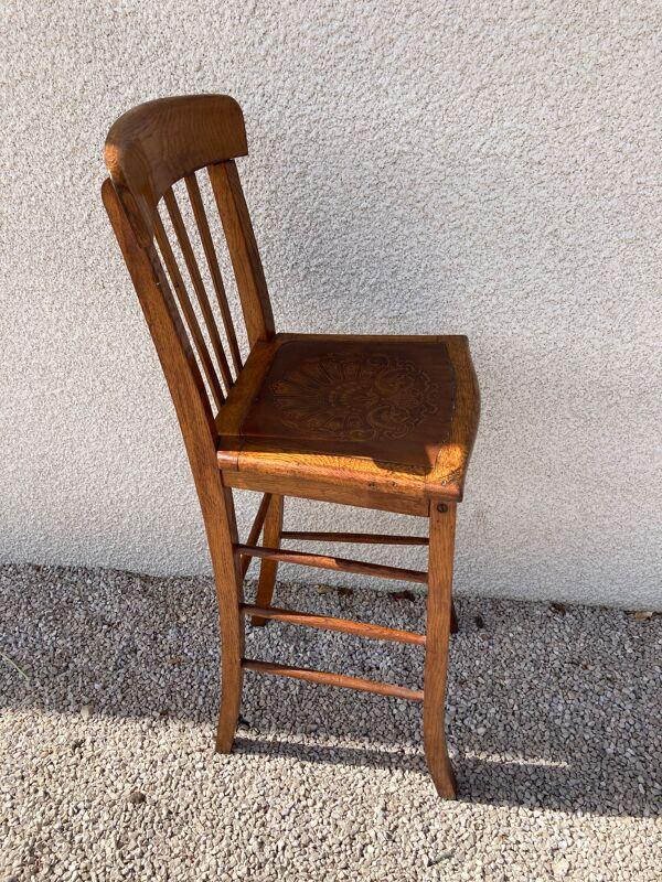 Chaise haute de bar Luterma