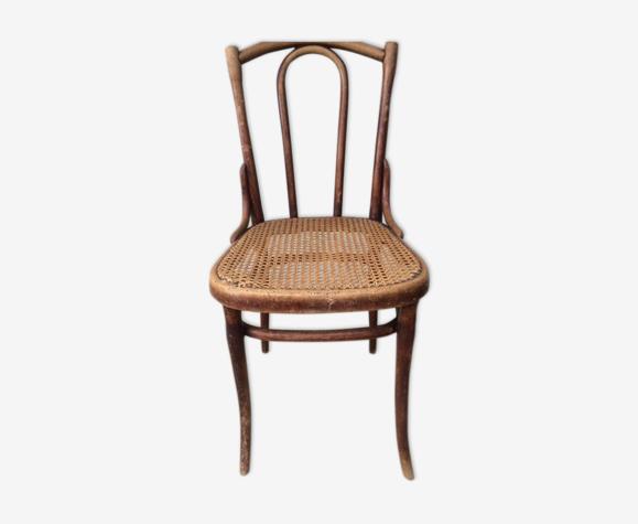 Chaise thonet cannée