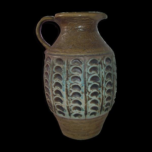 Vase céramique Jasba années 60-70