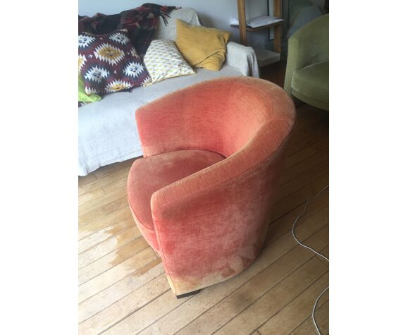 Fauteuil golf rouge