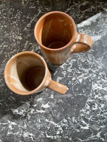 Paire de mugs en grès