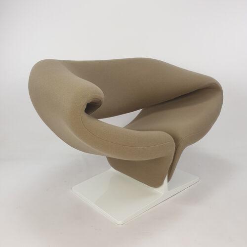 Fauteuil ribbon du milieu du siècle par Pierre Paulin pour Artifort, années 1960