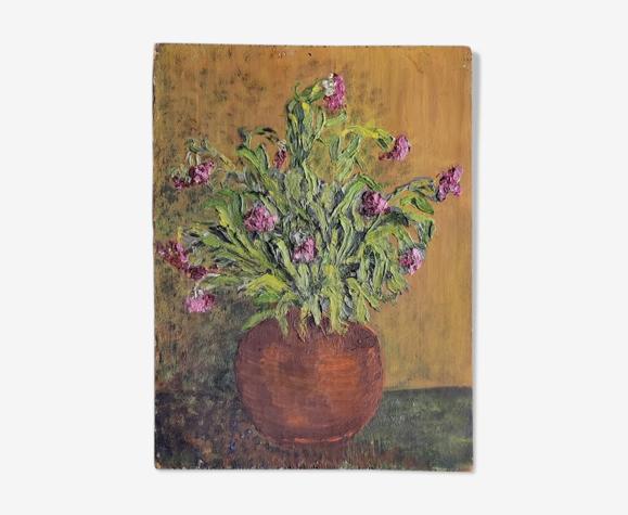 Peinture sur panneau