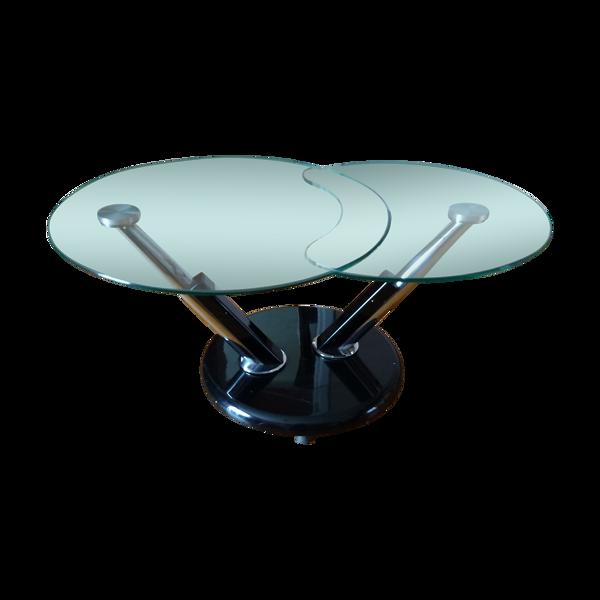 Selency Table basse déployante Space Age années 60