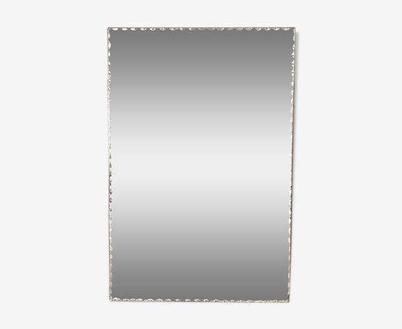 Miroir biseauté vintage 120x80