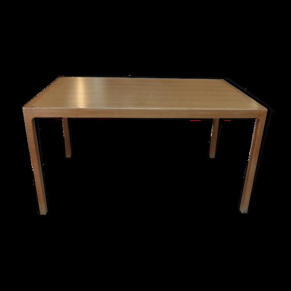 Table placage de chêne, 1960
