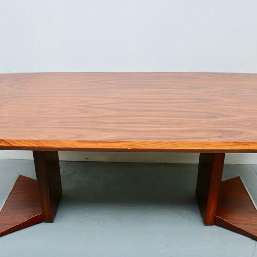 Table bureau en palissandre