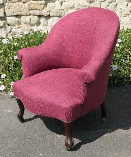 Ancien fauteuil bergère