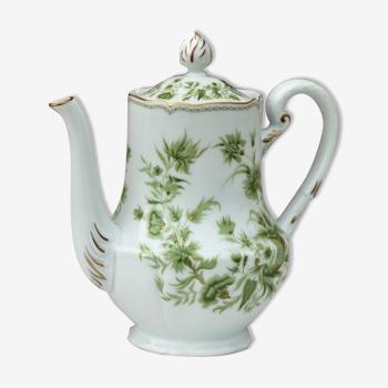 Cafetière verseuse porcelaine Haviland A la Corne