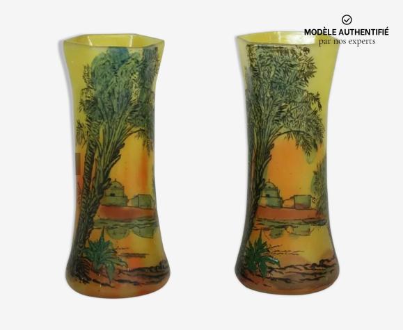 Paire de vases Legras