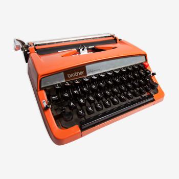 Machine à écrire Brother De Luxe 879 révisée et ruban neuf