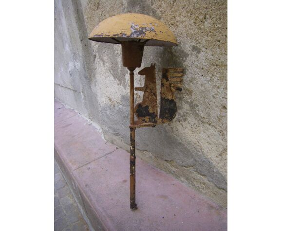 """Old bank lamp """"Caisse d'Epargne"""""""